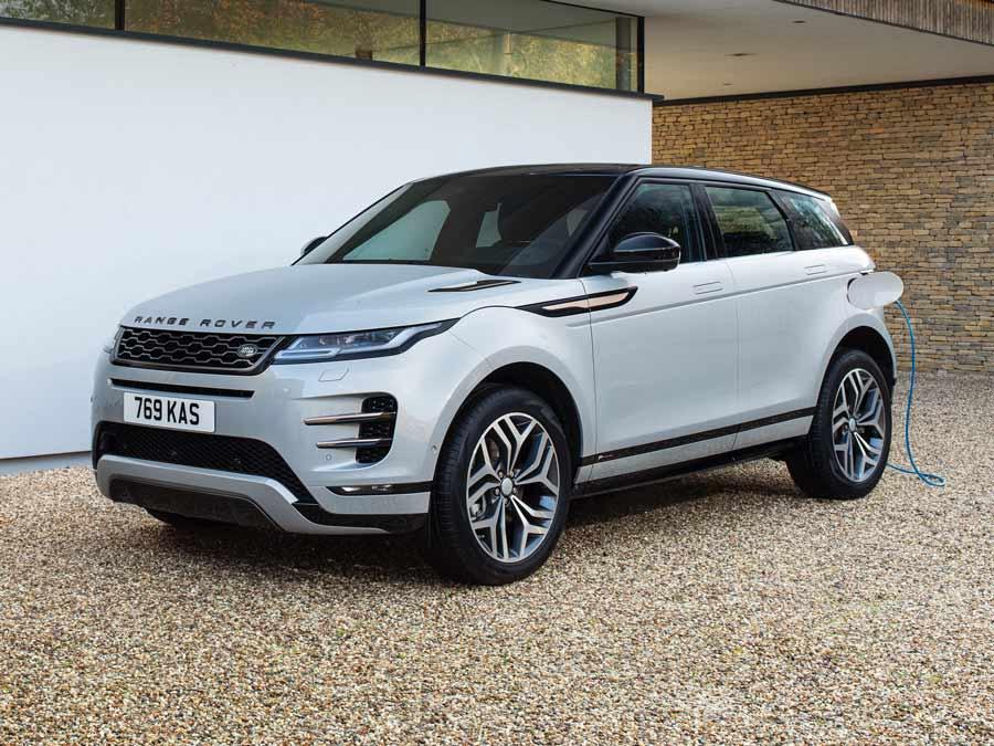 Wallbox, Ladekabel, Mobiles Ladegerät und Ladestation passend für den Range Rover Evoque Plug-in Hybrid
