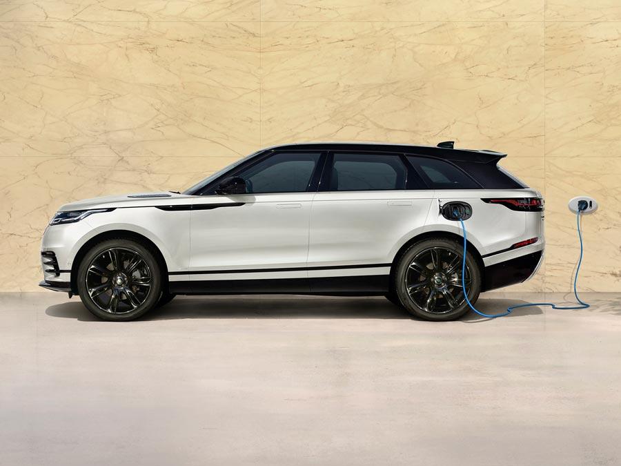 Wallbox, Ladekabel, Mobiles Ladegerät und Ladestation passend für den Range Rover Velar Plug-in Hybrid