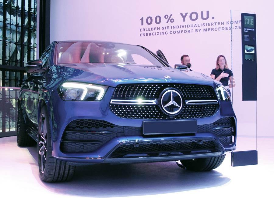 Wallbox, Ladekabel, Mobiles Ladegerät und Ladestation passend für den Mercedes GLE 350 de